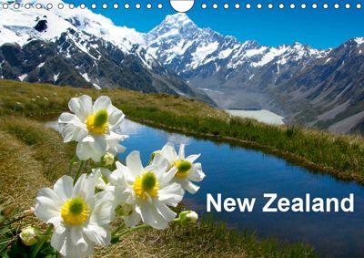 New Zealand (Wall Calendar 2019 DIN A4 Landscape), Gunar Streu, G. Ludwig, McPHOTO