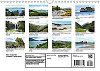 New Zealand's Endless Landscapes (Wall Calendar 2019 DIN A4 Landscape) - Produktdetailbild 13