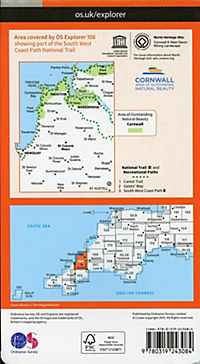 Newquay and Padstow 1 : 25 000 - Produktdetailbild 1