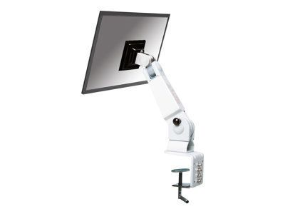 NEWSTAR FPMA-D400 Desk Mount für Flatscreens 25,4-76,2cm 10-30Zoll 10kg 2 pivot VESA 75x75 or 100x100mm schwenk-,kipp-,drehbar grau