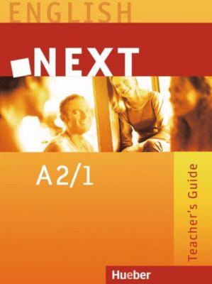 NEXT: A2/1 Teacher's Guide, Brigitte Köper, Stuart Vizard