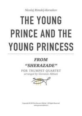 "Nicolaj Rimskij-Korsakov The Young Prince And The Young Princess (from Sherazade"") for trumpet quartet, Giovanni Abbiati"