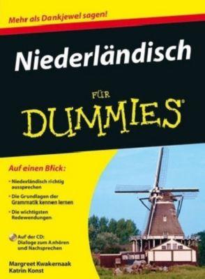 Niederländisch für Dummies, m. CD-ROM, Margreet Kwakernaak
