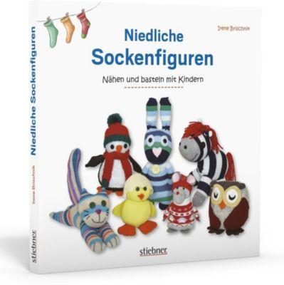 Niedliche Sockenfiguren - Irene Brischnik |