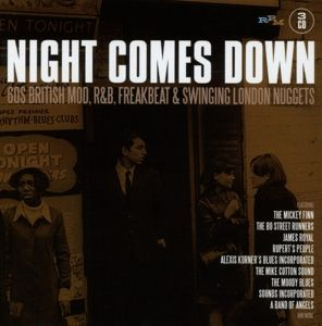 Night Comes Down-60'S British Mod,R&B,Freakbeat, Diverse Interpreten