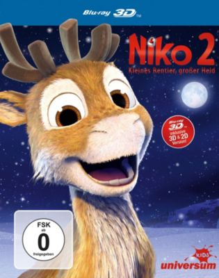 Niko 2: Kleines Rentier, grosser Held - 3D-Version, Marteinn Thorisson, Hannu Tuomainen