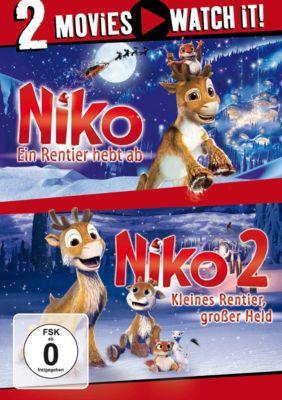 Niko - Ein Rentier hebt ab / Niko 2 - Kleines Rentier, grosser Held, Hannu Tuomainen, Marteinn Thorisson, Mark Hodkinson