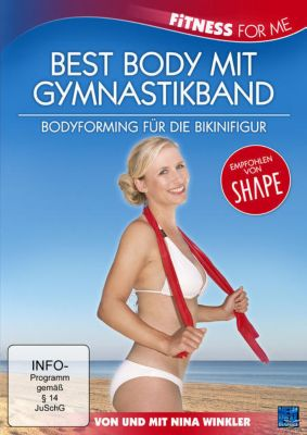 Nina Winkler - Fitness for me - Best Body mit Gymnastikband, N, A
