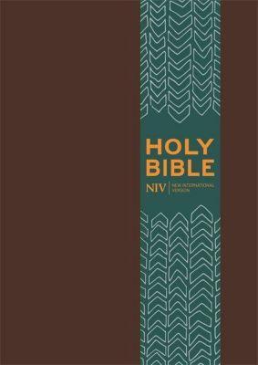 NIV Pocket Brown Imitation Leather Bible