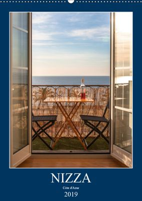 Nizza - Cote d'Azur 2019 (Wandkalender 2019 DIN A2 hoch), Sebastian Rost