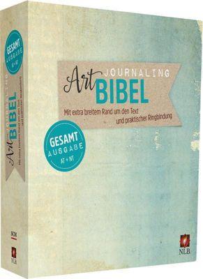NLB Art Journaling Bibel Gesamtausgabe im Ringbuch