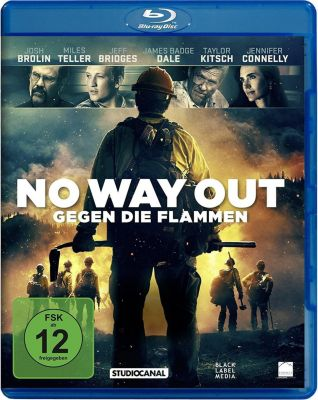 No Way Out - Gegen die Flammen, 1 Blu-ray