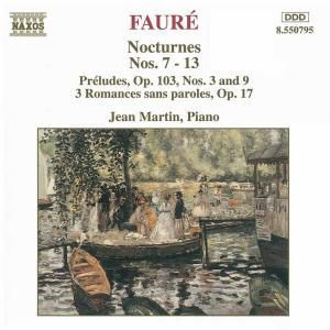 Nocturnes 7-13, Jean Martin