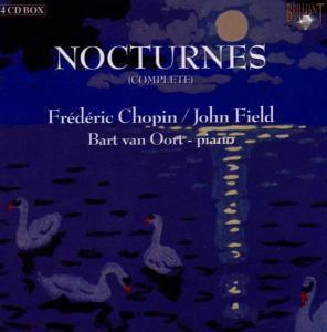 Nocturnes Chopin, 4 CDs, Bart Van Oort