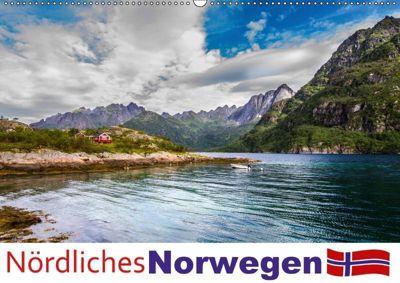 Nördliches Norwegen (Wandkalender 2019 DIN A2 quer), Daniel Philipp