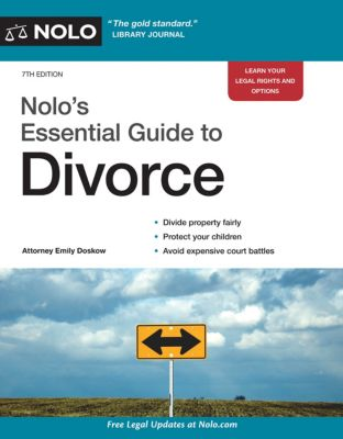 Nolo's Essential Guide to Divorce, Emily Doskow