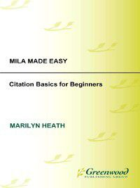 Non-Series: MLA Made Easy, Marilyn Heath