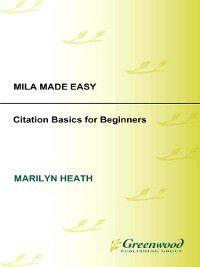 Non-Series: MLA Made Easy, Marilyn Heath