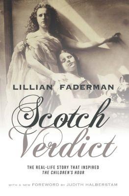 NONE: Scotch Verdict, Lillian Faderman