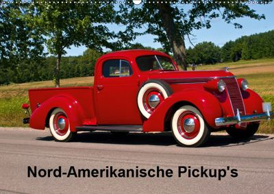 Nord-Amerikanische Pickup's (Wandkalender 2019 DIN A2 quer), Fred Heidel/Performance Image