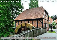 Norddeutsche Wassermühlen (Tischkalender 2019 DIN A5 quer) - Produktdetailbild 8