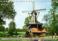Norddeutsche Wassermühlen (Tischkalender 2019 DIN A5 quer) - Produktdetailbild 9