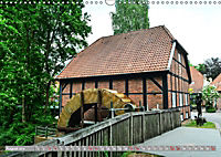 Norddeutsche Wassermühlen (Wandkalender 2019 DIN A3 quer) - Produktdetailbild 8
