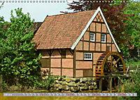 Norddeutsche Wassermühlen (Wandkalender 2019 DIN A3 quer) - Produktdetailbild 7