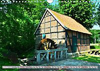 Norddeutsche Wassermühlen (Wandkalender 2019 DIN A4 quer) - Produktdetailbild 10