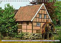 Norddeutsche Wassermühlen (Wandkalender 2019 DIN A4 quer) - Produktdetailbild 7