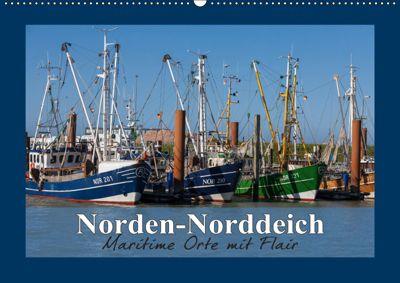 Norden-Norddeich. Maritime Orte mit Flair (Wandkalender 2019 DIN A2 quer), Andrea Dreegmeyer