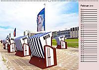 NORDERNEY Geburtstagskalender mit Planerfunktion (Wandkalender 2019 DIN A2 quer) - Produktdetailbild 2