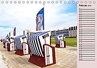 NORDERNEY Geburtstagskalender mit Planerfunktion (Tischkalender 2019 DIN A5 quer) - Produktdetailbild 2