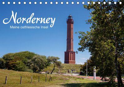 Norderney. Meine ostfriesische Insel (Tischkalender 2019 DIN A5 quer), Andrea Dreegmeyer