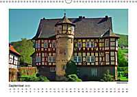 Nordhessen ist fotogen - Burgen&Schlösser - Edition (Wandkalender 2019 DIN A3 quer) - Produktdetailbild 9