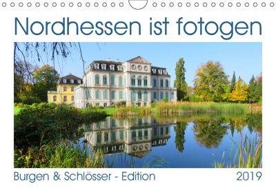 Nordhessen ist fotogen - Burgen&Schlösser - Edition (Wandkalender 2019 DIN A4 quer), Sabine Löwer