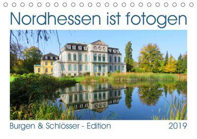 Nordhessen ist fotogen - Burgen&Schlösser - Edition (Tischkalender 2019 DIN A5 quer), Sabine Löwer