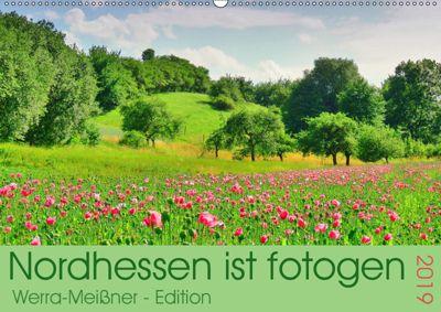 Nordhessen ist fotogen - Werra-Meissner - Edition (Wandkalender 2019 DIN A2 quer), Sabine Löwer