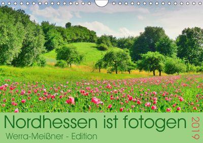 Nordhessen ist fotogen - Werra-Meissner - Edition (Wandkalender 2019 DIN A4 quer), Sabine Löwer