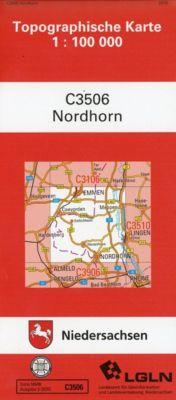 Nordhorn 1 : 100 000. (TK 3506/N)