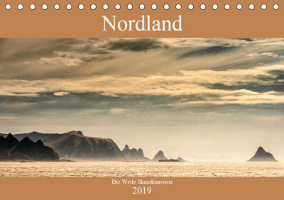 Nordland - Die Weite Skandinaviens (Tischkalender 2019 DIN A5 quer), Dieter Gödecke