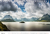 Nordland - Die Weite Skandinaviens (Tischkalender 2019 DIN A5 quer) - Produktdetailbild 3