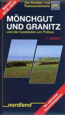 Nordland Karte Mönchgut und Granitz