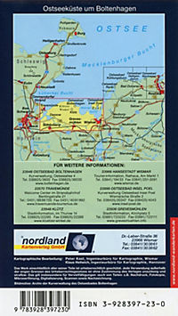 Nordland Karte Ostseeküste um Boltenhagen von Travemünde bis Wismar - Produktdetailbild 1