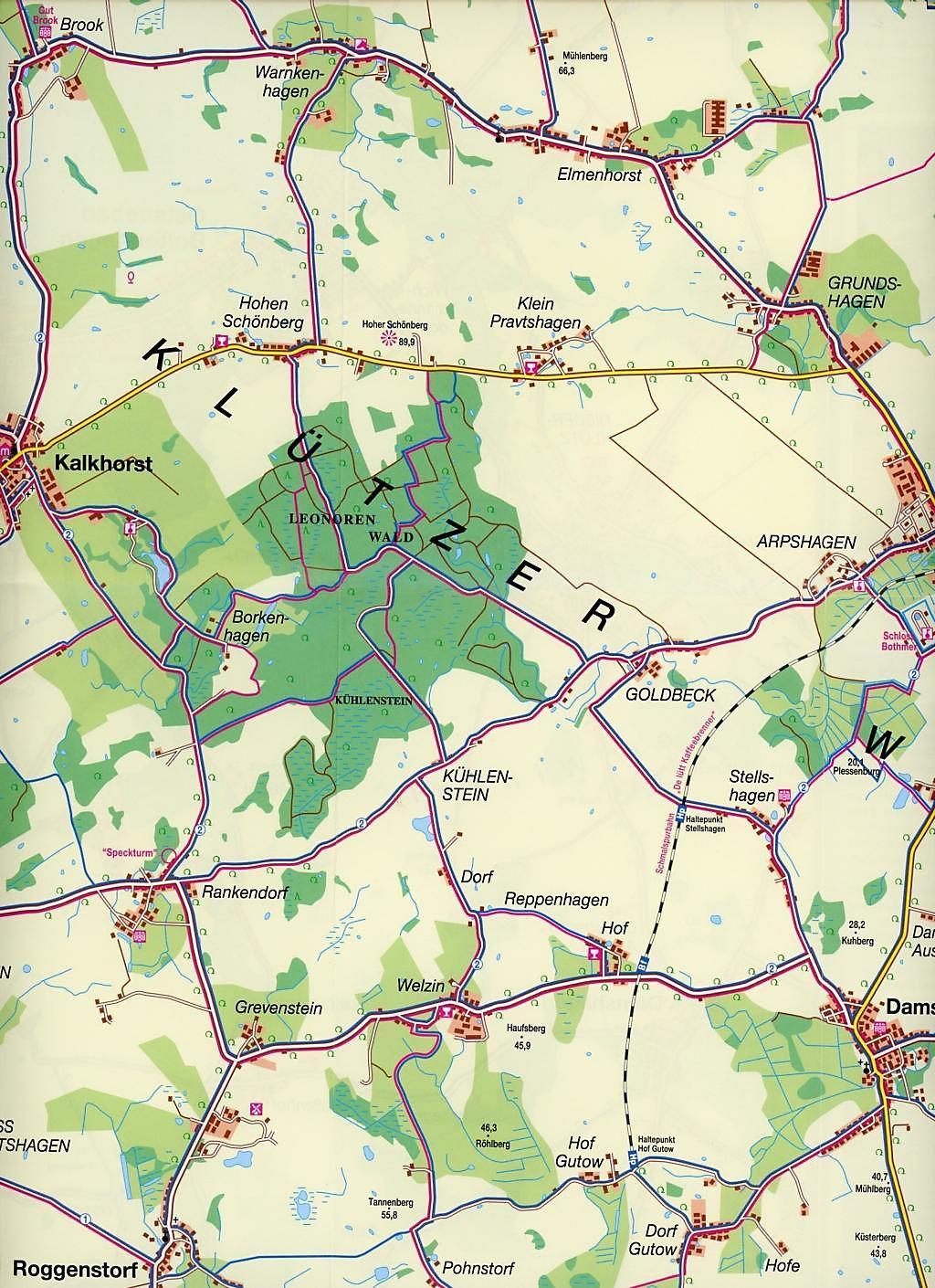 Boltenhagen Ostsee Karte.Nordland Karte Ostseekuste Um Boltenhagen Von Travemunde Bis