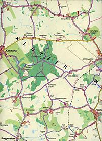 Nordland Karte Ostseeküste um Boltenhagen von Travemünde bis Wismar - Produktdetailbild 2