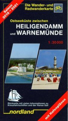 Nordland Karte Warnemünde, Rostocker Heide