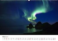 Nordlichter - Magische Nächte in Skandinavien (Wandkalender 2019 DIN A2 quer) - Produktdetailbild 3