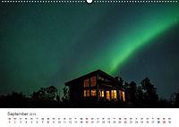 Nordlichter - Magische Nächte in Skandinavien (Wandkalender 2019 DIN A2 quer) - Produktdetailbild 9