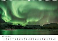 Nordlichter - Magische Nächte in Skandinavien (Wandkalender 2019 DIN A2 quer) - Produktdetailbild 11